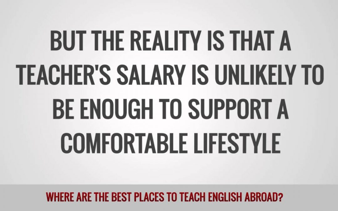 Where Are the Best Places to Teach English Abroad?