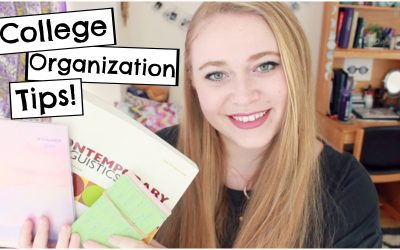 How to Be Organized + Study Tips for College!