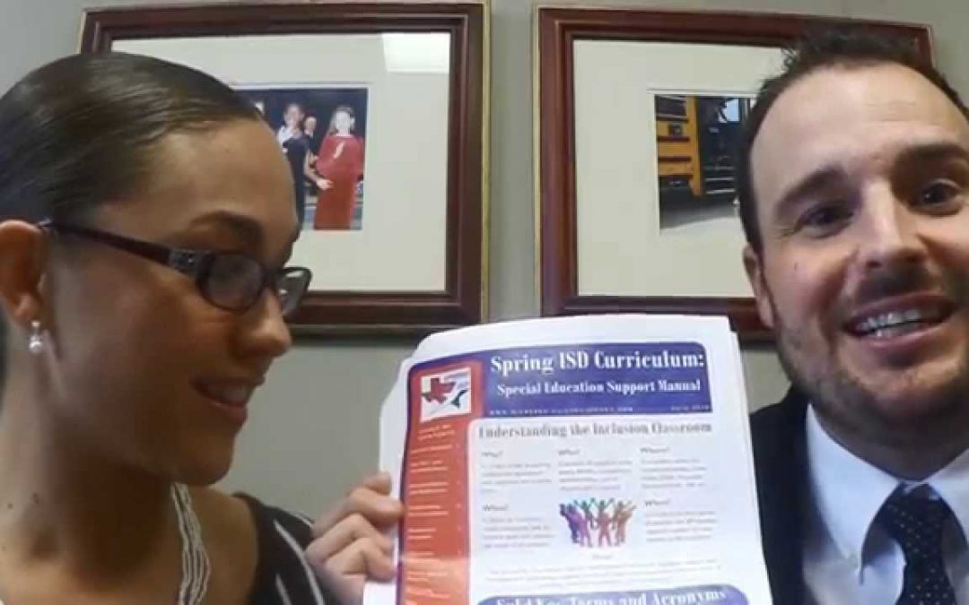 SISD Curriculum: Special Education Support Manual Information Guide