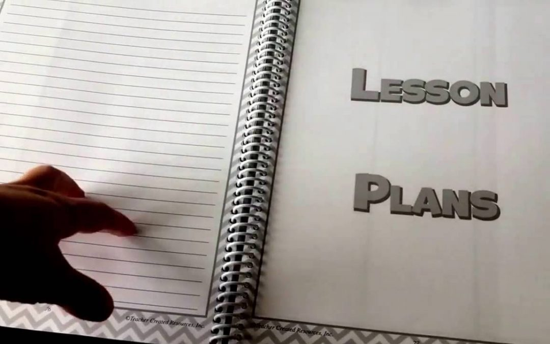 Teacher Created Resource's Lesson Plan and Record Book Review